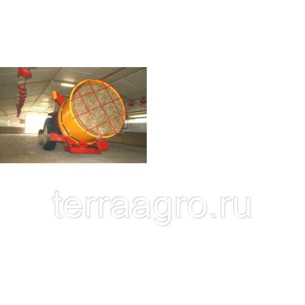 Измельчитель-выдуватель соломы барабанного типа Tomahawk 505M (молотковая дробилка)