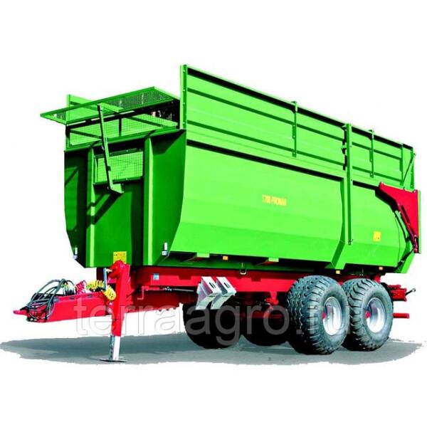 Монолитный тракторный прицеп тандем Т700