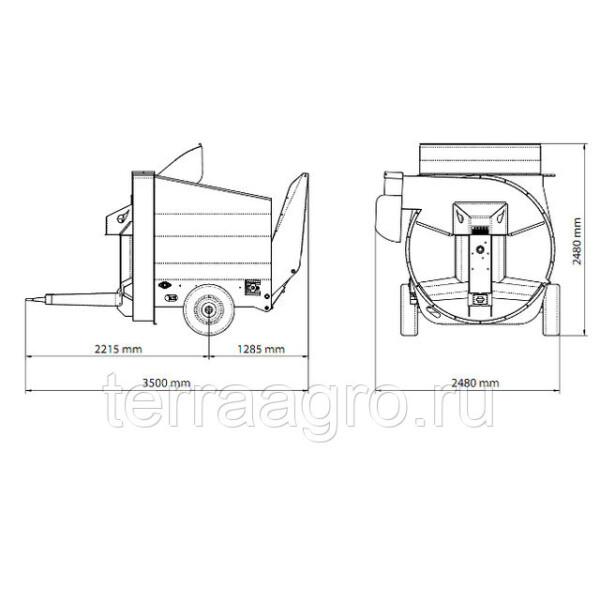 Измельчитель соломы Mini STRAW